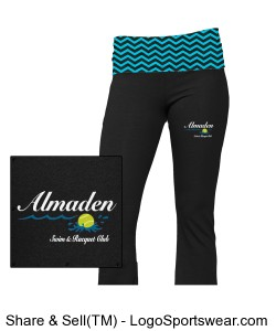 Ladies Yoga Pant Design Zoom